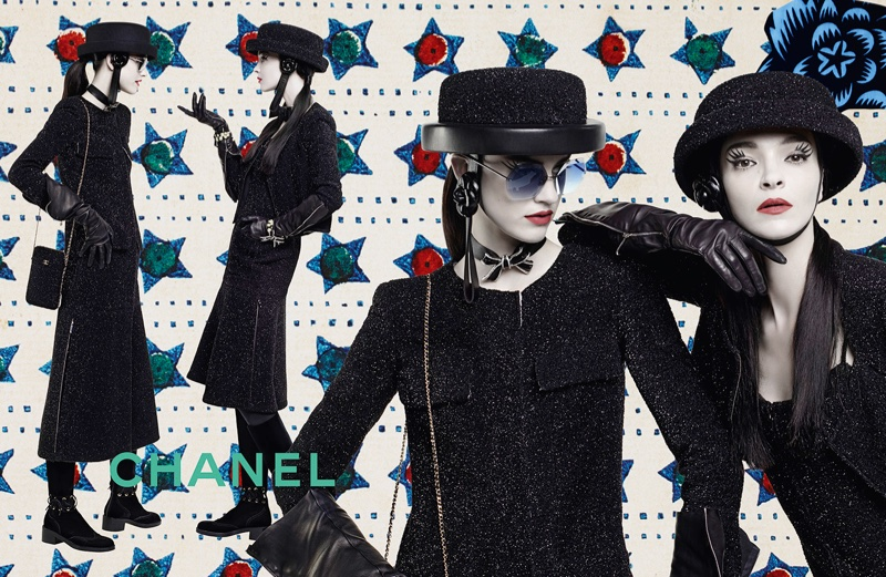 Sarah Brannon and Mariacarla Boscono star in Chanel's fall 2016 campaign