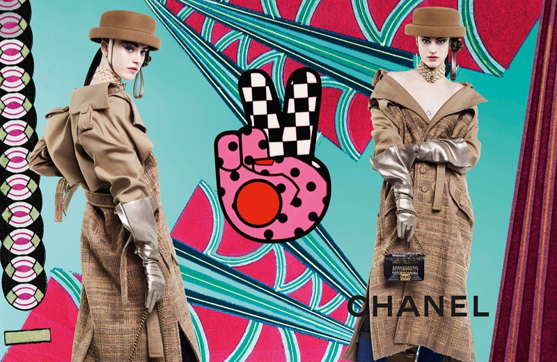 Sarah Brannon stars in Chanel's fall-winter 2016 campaign