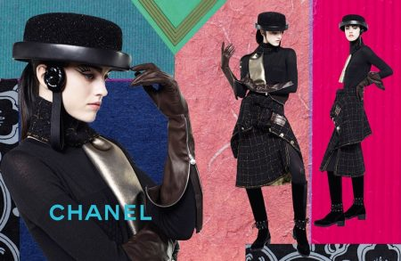 Chanel Focuses on Chic Collages for Fall 2016 Ads