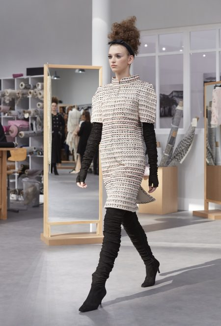 Karl Lagerfeld Dedicates Chanel's Fall Haute Couture Collection to the Ateliers