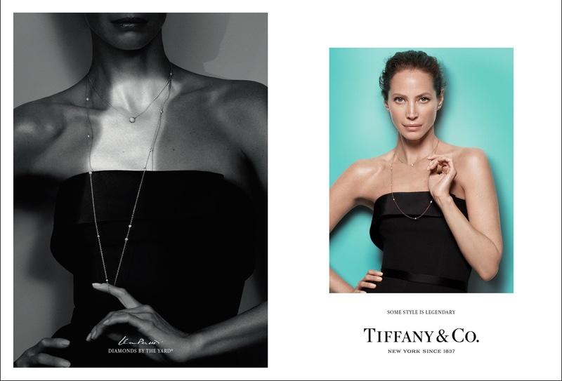 Christy Turlington stars in Tiffany & Co's fall-winter 2016 campaign