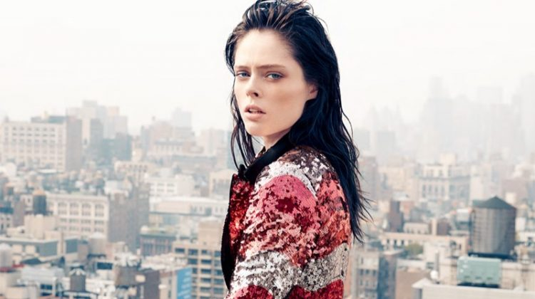 Coco Rocha Wears the Fall Collections for Harper's Bazaar Taiwan