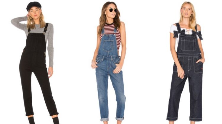 Discover cute denim overlals