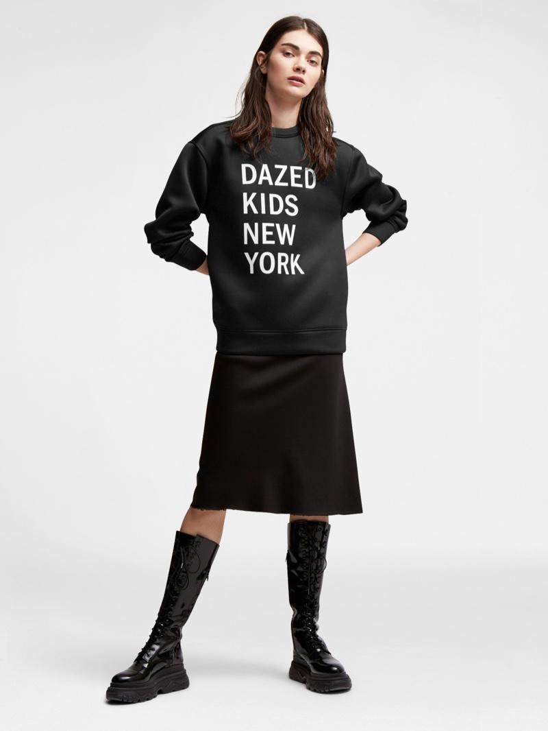 DKNY Dazed Kids New York Sweater