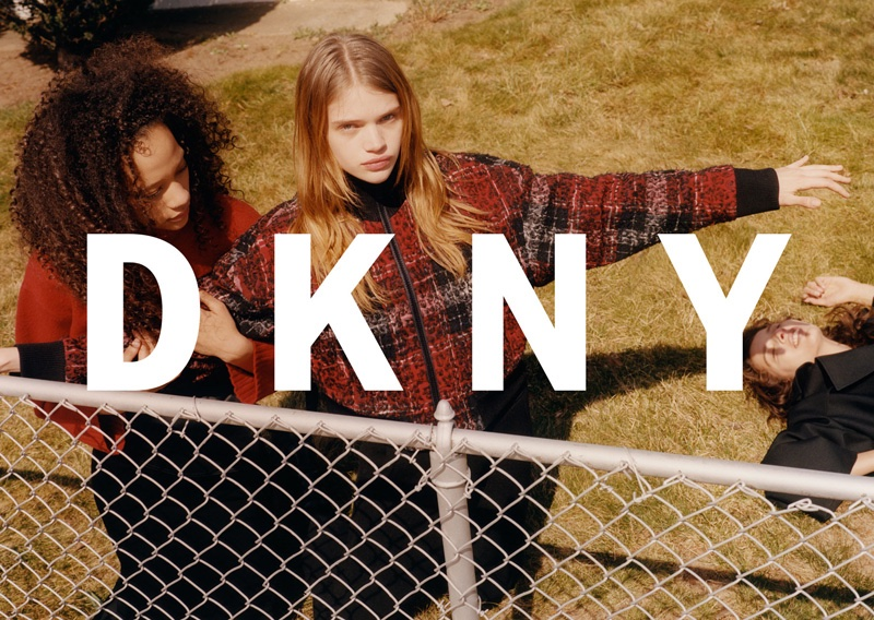 Selena Forrest and Stella Lucia star in DKNY's fall-winter 2016 campaign