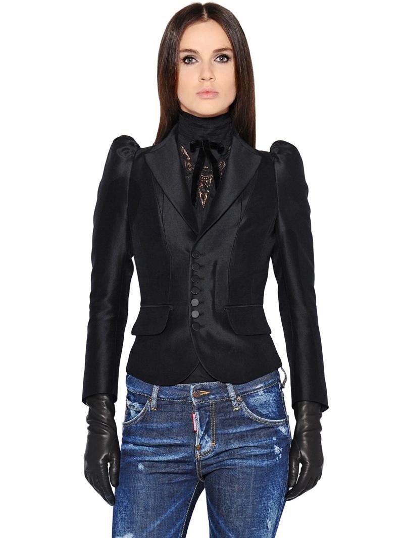 DSquared2 Victorian Velvet Jacket