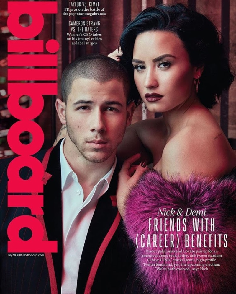 Demi Lovato on Billboard Magazine July 30, 2016 Cover