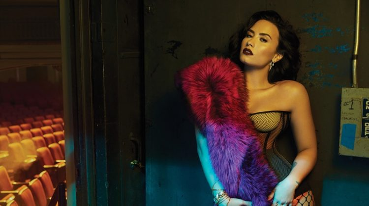 Demi Lovato Turns Up the Glam in Billboard Magazine