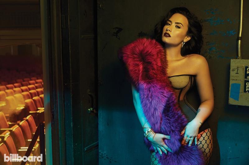 Demi Lovato Turns Up the Glam in Billboard Magazine