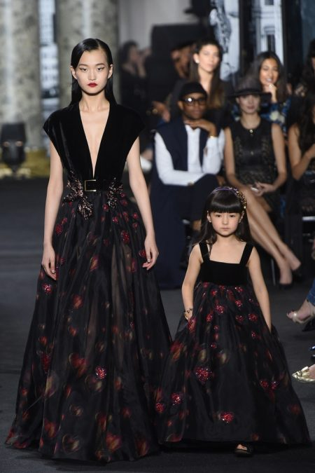 Elie Saab Brings the New York Skyline to Fall Haute Couture