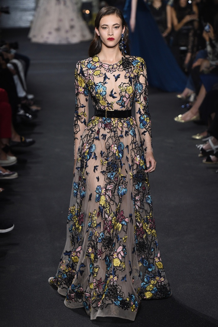 New York Fashion Week Elie Saab