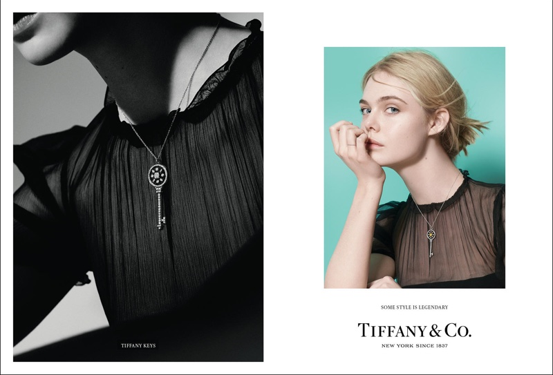 Elle Fanning stars in Tiffany & Co's fall-winter 2016 campaign