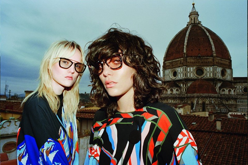 Emilio Pucci Sets Fall 2016 Campaign in Florence