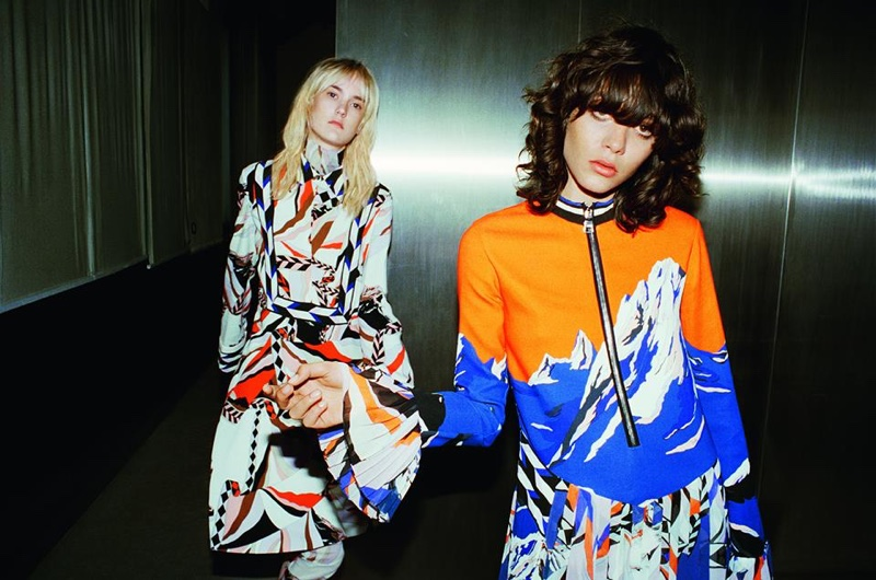 Emilio Pucci's signature prints stand out in its fall 2016 campaign
