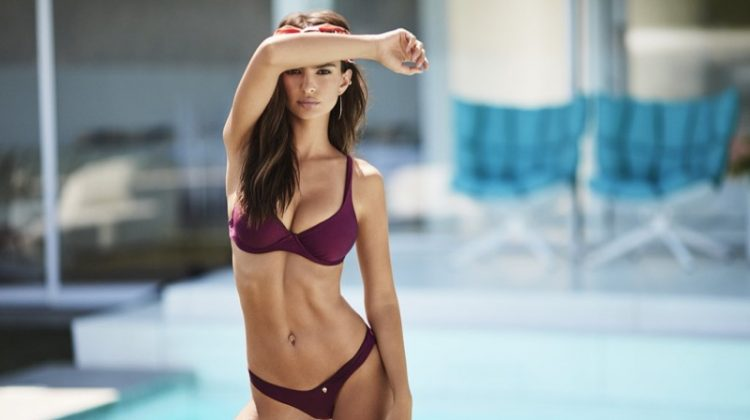 Emily Ratajkowski Heats Up Amore + Sorvete's Swimsuit Campaign