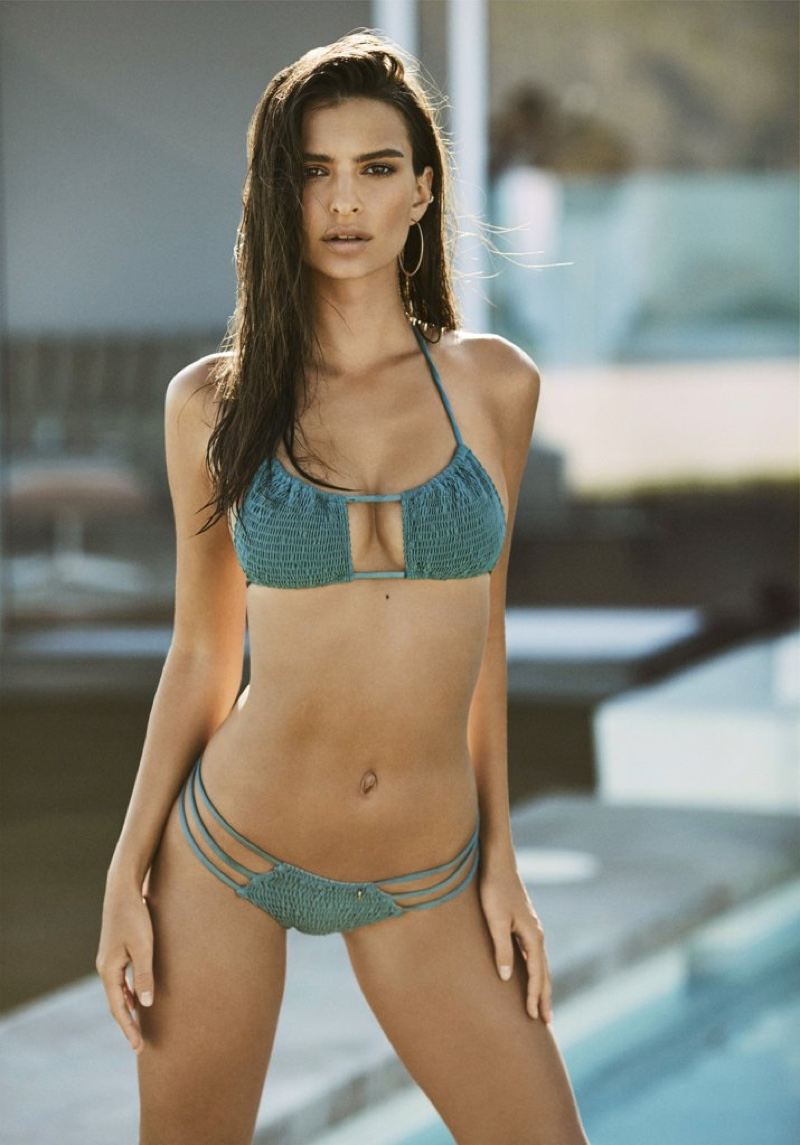 Emily Ratajkowski flaunts some skin in Amore + Sorvete campaign