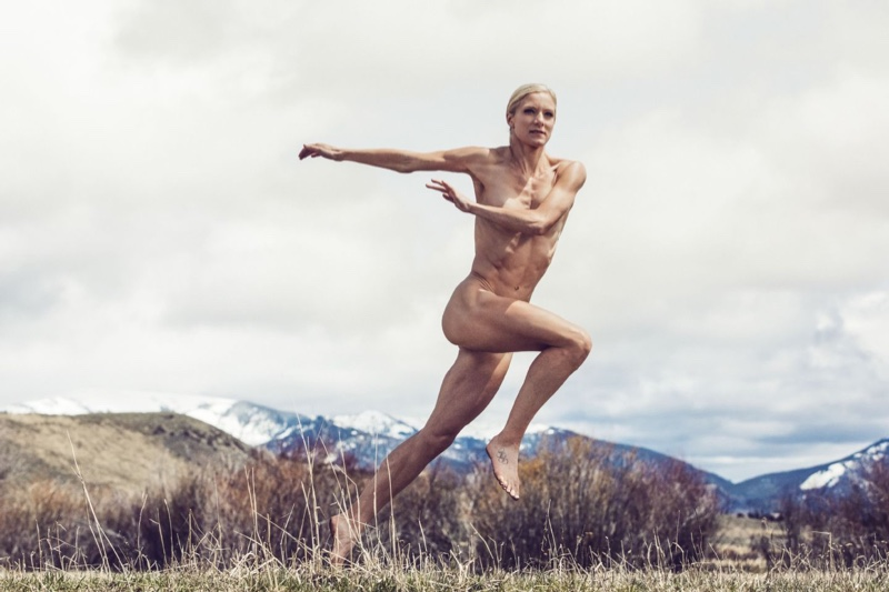 Emma Coburn 2016 ESPN Body Photoshoot