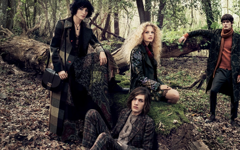 Mikael Jansson photographs Etro's fall-winter 2016 campaign