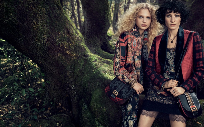 An image from Etro's fall-winter 2016 campaign