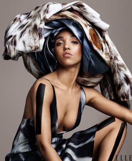 FKA Twigs Poses for ELLE, Talks Dealing with the Public Spotlight