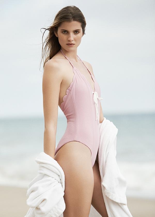 Marysia Swim x FWRD Exclusive Broadway Lace Up Swimsuit