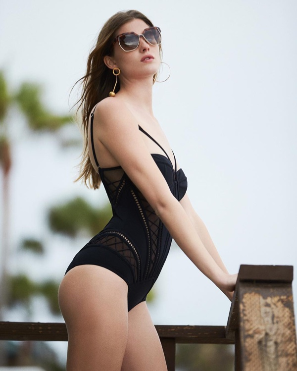 Zimmermann Roza Corset One Piece Swimsuit
