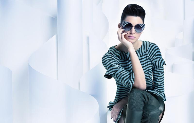 Kendall Jenner stars in Fendi's fall-winter 2016 campaign