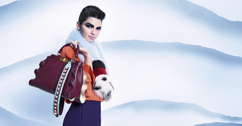 Karl Lagerfeld photographs Fendi's fall 2016 campaign