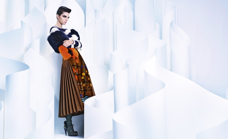 Fendi fall-winter 2016 advertising campaign