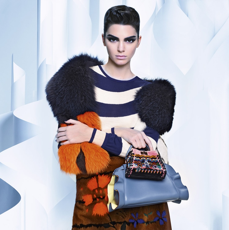 Fendi does fur for fall-winter 2016 campaign