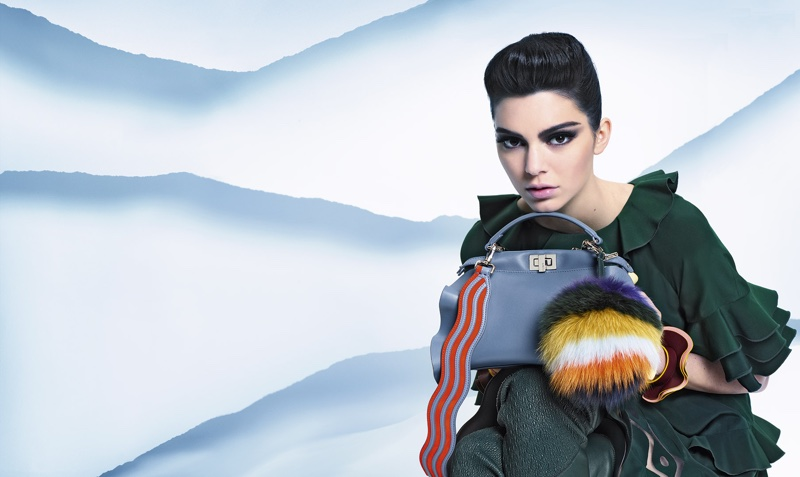 Fendi focuses on ruffled handbags for fall 2016 campaign