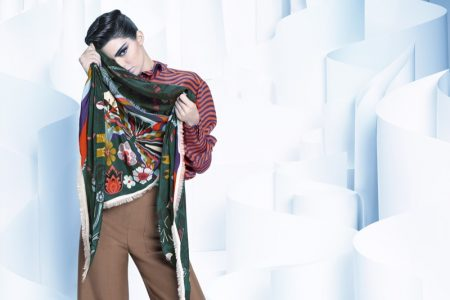 Kendall Jenner is an Ice Princess in Fendi's Fall 2016 Campaign