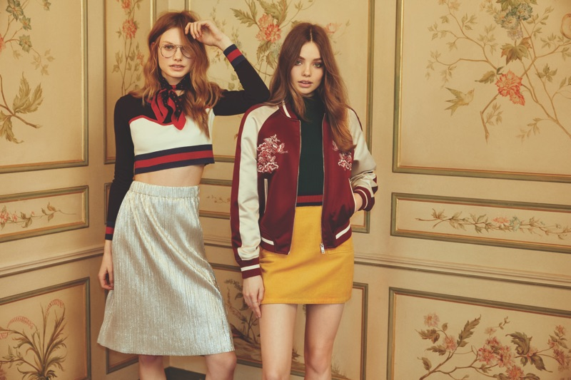 Forever 21's pre-fall 2016 collection focuses on retro inspired varsity style
