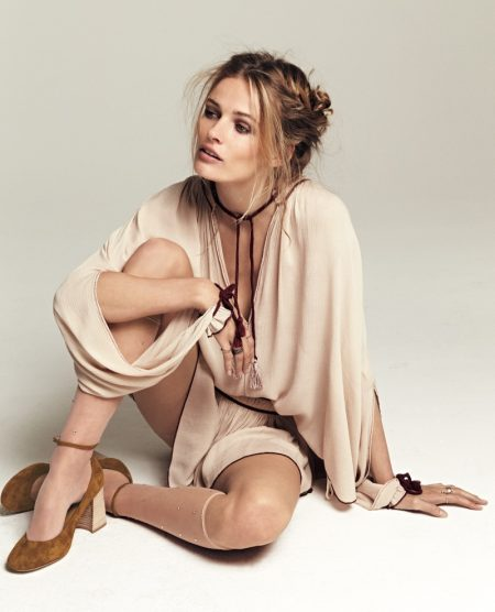 Edita Vilkeviciute Wears Pre-Fall's Top Trends for Free People
