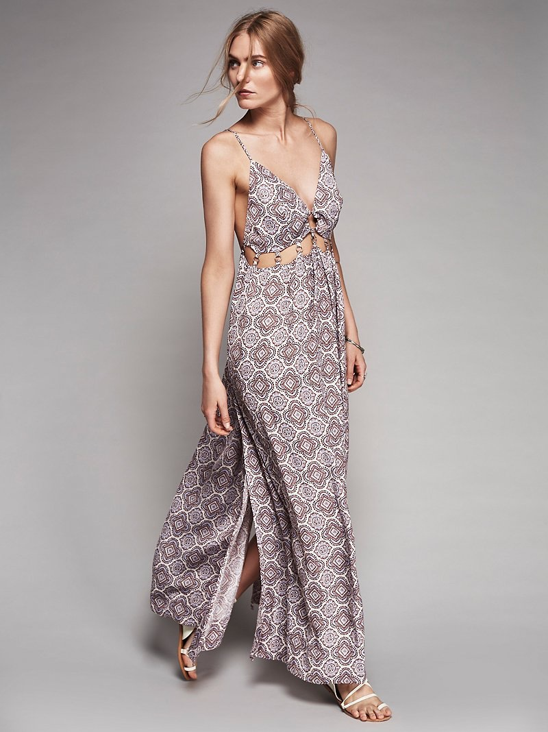 Free People She's a Knockout Maxi Dress