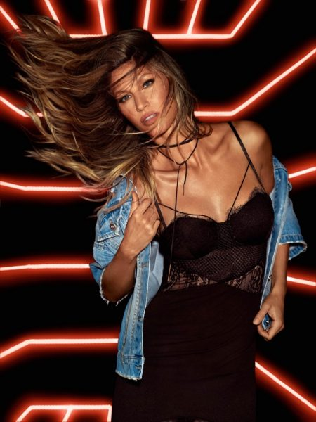 Gisele Bundchen Enjoys the Night Life in Colcci Campaign