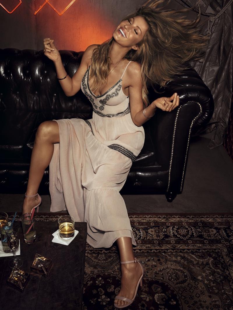 Gisele Bundchen flips her hair in Colcci's spring-summer 2017 campaign