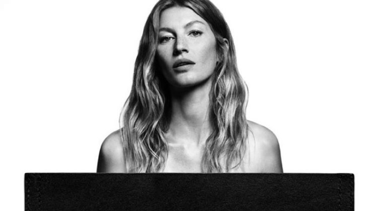 Gisele Bundchen Strips Down for Givenchy Jeans Campaign
