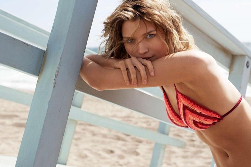 H&M Crocheted Triangle Bikini Top