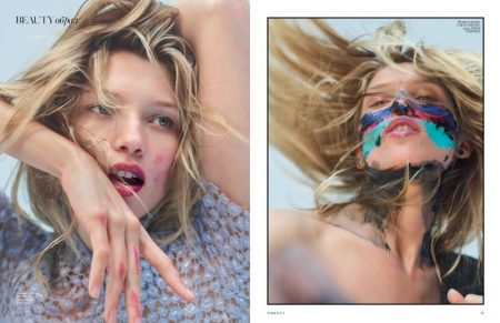 Hana Jirickova is a Wild Beauty in Vogue Ukraine