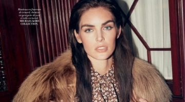 Hilary Rhoda Brings the Fall Collections to New York for L'Officiel Paris