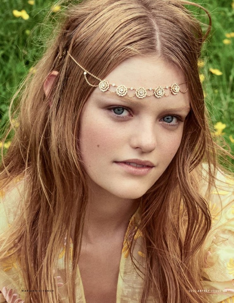 Willow Hand serves hippie chic vibes with a bejeweled headband
