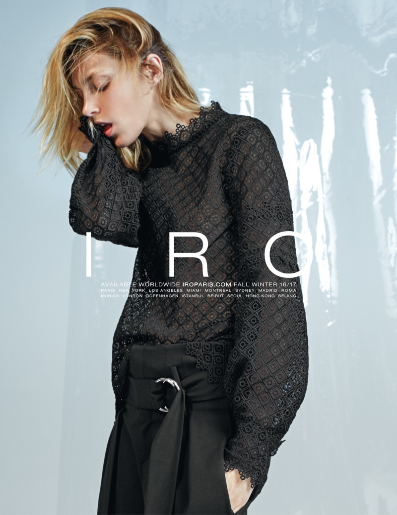 An image from IRO's fall 2016 campaign