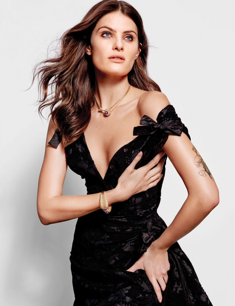 Isabeli Fontana Graces the Pages of Harper's Bazaar Singapore