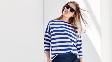 Cool Blues: 8 Chic Nautical Outfits from J. Crew
