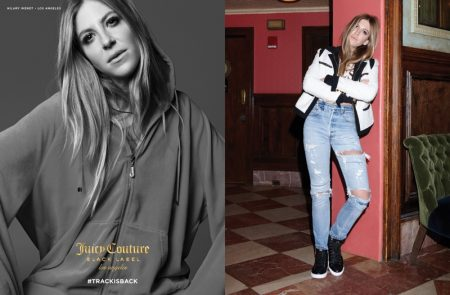 Juicy Couture Brings Back the Iconic Tracksuit for Fall 2016 Campaign