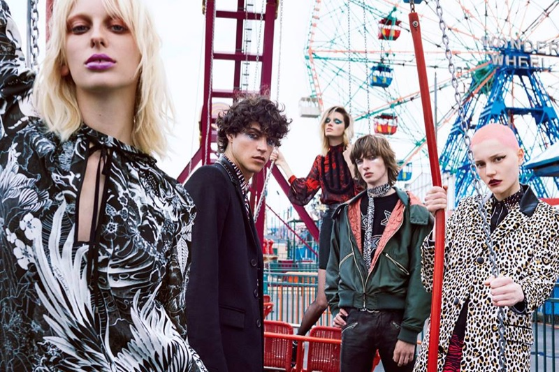 Just Cavalli captures fall 2016 campaign in Coney Island