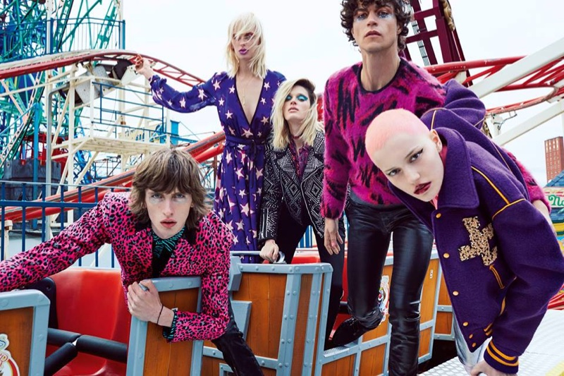 Just Cavalli Brings Glam Rock Back with Fall '16 Campaign