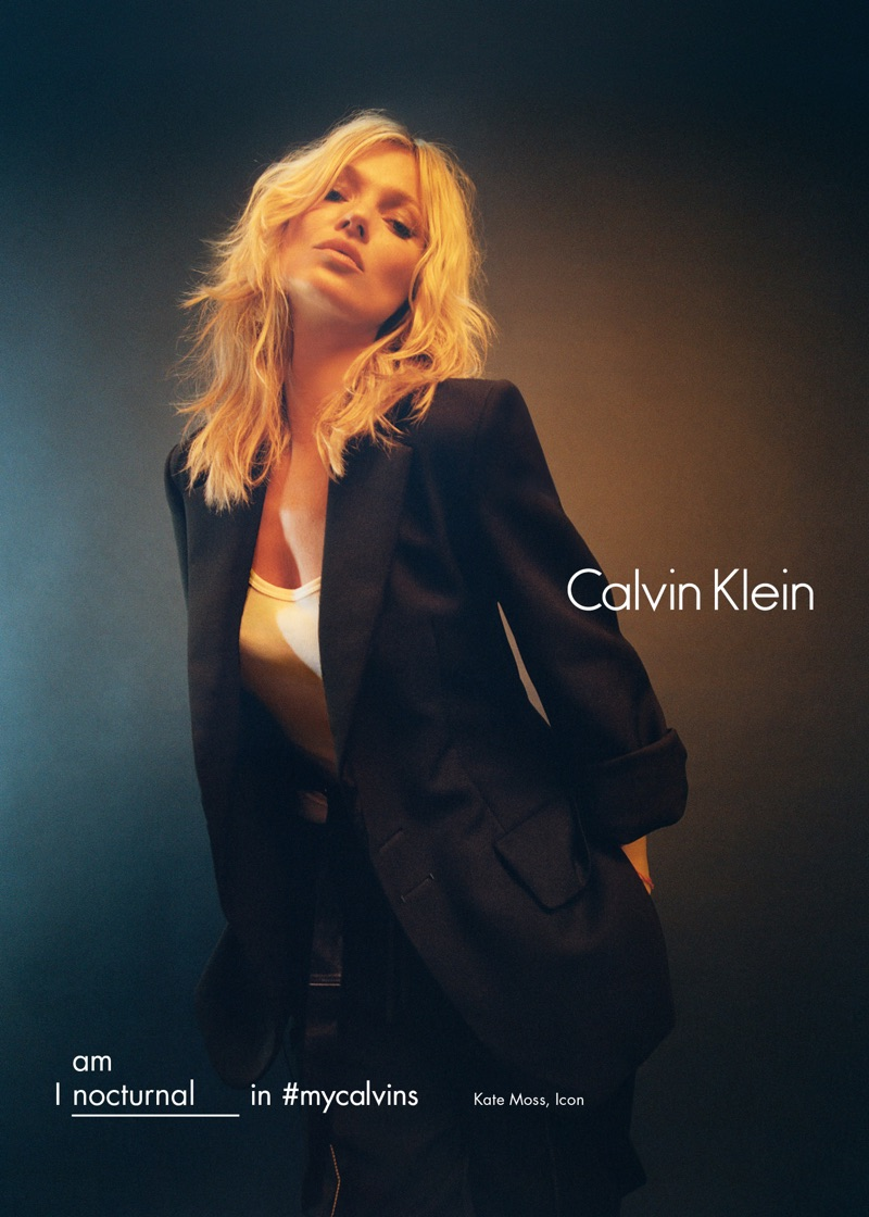 Kate Moss for Calvin Klein Fall/Winter 2016 Campaign