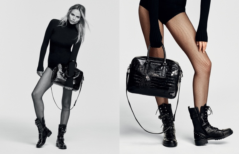 Kurt Geiger features combat boots in fall 2016 advertising campaign